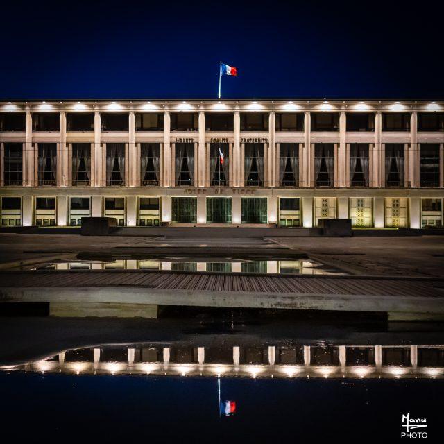 La Mairie du Havre. Sony A6400 Sigma 16mm F1.4. Le Havre 05/01/2020.