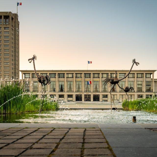 La Mairie du Havre. Sony A6400 Sony 18-105 m F4. Le Havre 05/01/2020.