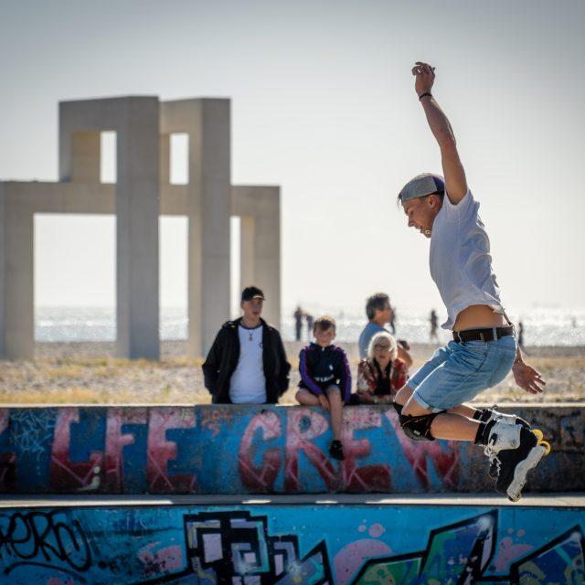 Skatepark de la plage. Sony A6400 Sony 18-105mm F4. Le Havre 21/06/2020.