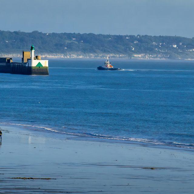 La plage du Havre. Sony A6400 Sony 18-105mm F4. Le Havre 25/04/2020.
