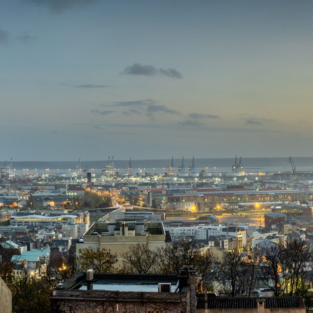 Vue panoramique Rue du 329ème. Sony A6400 50mm f1,8 oss. 02/11/2020, Le Havre.